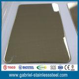 fabricante inoxidable coloreado espesor de 430 hojas de acero de 2m m