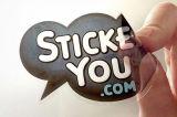 정체되는 스티커 Windows는 스티커 스티커 PVC 비닐 달라붙는다