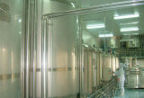 Production laitière de paquet de palier traitant faisant la ligne d'usine de machines
