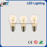 MTX A19 2 W LED Heizfadender lampe Glühlampe-Kurzschlussweinleseglasder edison-Art-E27 220V LED der Birnen-LED warmes Weiß für Haus