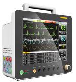 Alta calidad monitor paciente del multiparámetro de la pantalla de 12.1 pulgadas de ancho