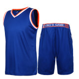 Terno quente do treinamento do basquetebol da garganta de Jersey V do Sublimation da venda