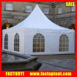 tente de Gazebo utilisée par tente imperméable à l'eau 10X10m arabe de pagoda de flanc de PVC en verre de couverture de tente de 8X8m