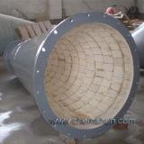 Resistenza per portare i fornitori di ceramica Di ceramica-Allineati della tubazione del tubo del gomito
