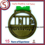 Ribbonの熱いSale Customized Metal Medal