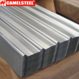 Строительный материал лист плитки толя цинка 0.7 mm Corrugated