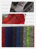 Material superior de la parte superior de zapato del deporte de la materia textil material superior del acoplamiento del zapato del estilo de la manera (SH2068)