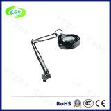 죔쇠 또는 손 손톱 사용 테이블 유형 LED 확대 램프