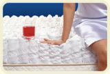 Matelas 100% de tissu du polyester 3D
