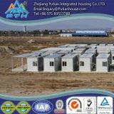 Chambre vite construite et accessible du récipient 20feet pour le travail/armée/camp d'exploitation
