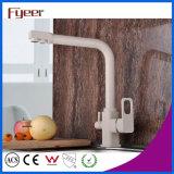 Faucet de bronze moderno do filtro da cozinha de 3 maneiras de Fyeer