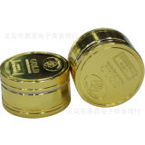 Neues Listing Zinc Alloy Layer 3layer Smoke Broken Tobacco Smoke Grinder