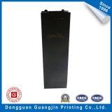 Impresión de negro vino bolsa de papel de embalaje (GJ-bag952)