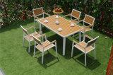 알루미늄 분말 코팅 Polywood 정원 도매 의자 및 테이블