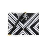 Bolsa de hombro de moda PU bolso de embrague de estampado de cebra fresco wzx1137