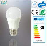 Hoge Brightness 3000k 7W E27 P50 LED Bulb met Ce RoHS