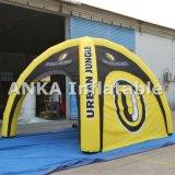 Aufblasbares im Freienarmkreuz-Zelt mit Deckel und den Beinen für das Bekanntmachen