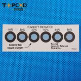 Cartão do indicador de umidade do cobalto de 6 pontos com embalagem do vácuo (HIC)