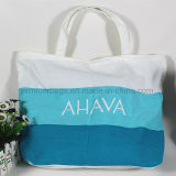 Buntes Canvas Tote Bag mit Customized Logo