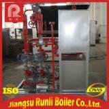 Caldera horizontal del petróleo de la eficacia alta con la calefacción eléctrica