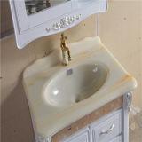 Пол высокого качества стоя тщета ванной комнаты PVC с шкафом зеркала