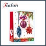Modificar para requisitos particulares laminado con el bolso del regalo del papel de las compras del brillo y de la Navidad 3D