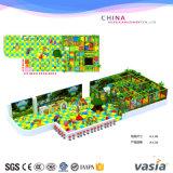 Do campo de jogos macio interno do tema da selva das crianças equipamento engraçado do parque para a venda