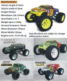 RC Gas車の1:8 Scale 21cc Engine Powered 4WD Monster Truck Scale RC Truck Erc087