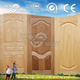 De houten Gefineerde Huid van de Deur, Eik/As/de Huid van de Deur van de Okkernoot, de Gevormde Huid van de Deur