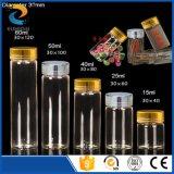 Bottiglie di vetro del coperchio a vite di alluminio del diametro 22mm 5ml 6ml 7ml 10ml 14ml in vetro di Borosilicate