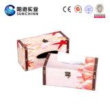 Подгонянная коробка ткани OEM деревянная (SCTB00013)