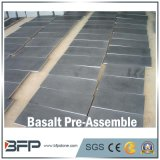 Basalto di pietra Polished naturale delle mattonelle per la pavimentazione/pavimentazione/scale/mattonelle della parete/stanza da bagno/cucina