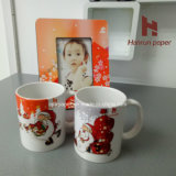 A4/A3 Sheet 100GSM Sublimation Transfer Paper Anti-Curl pour le tapis de souris, Mug, surface dure