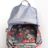 النمط البريطاني ريترو الزهور للماء PVC قماش حقائب تحمل على الظهر