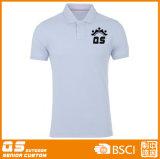 Deportes de los hombres que funcionan con la camiseta seca del polo
