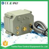 2 het Roestvrij staal die van de manier 4-20mA de Elektrische Gemotoriseerde Evenredige Klep van de Controle moduleren