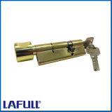 deur van de Veiligheid van 90mm de Enige Open met de Cilinder van het Slot van de Knop