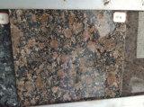 浴室、カウンタートップのためのカスタムバルト海のブラウンの花こう岩の石Vanitytop