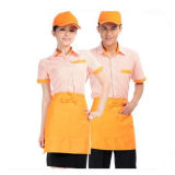 Roupa do restaurante de /Fast-Food do Workwear do restaurante da comida rápida/uniforme restaurante da comida rápida