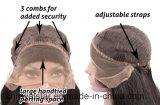 Form-Steigung-Haar-Vorderseite-Spitze-Haar-lang lockige synthetische Perücke