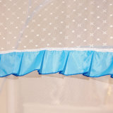 Портативная сеть москита с собственной личностью - поддерживая двойная кровать