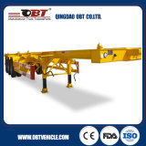 Doppeltes Fuwa Axles 40FT Skeletal Trailer Frame