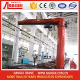 0.5t, 1t, 2t, 3t, 360 Rotate Degree를 가진 5t Stand Column Jib Crane