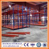 Warehouse resistente Metal Storage Rack con Steel Panel