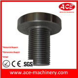 CNC подвергая повернутую часть механической обработке алюминиевого гнезда
