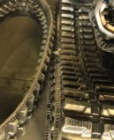 Trilha de borracha (250X72X52) para a máquina escavadora de Kubota