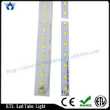 High Lumen ETL T8 1.2m G13/Single Pin/R17D LED Tube (18W)製造業者