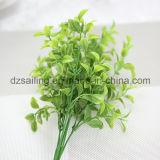 플라스틱은 떠난다 결혼식 또는 홈 또는 정원 훈장 (SF16294)를 위한 Aritificial 꽃을