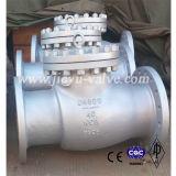 Type manuel clapet anti-retour de l'oscillation Dn200 de Wcb de bride