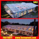 Tente en aluminium de Guangzhou Weddding de bâti de grand mur en verre d'ABS à vendre